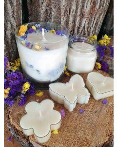 Tiešsaistes sveču liešanas kursi- sveču liešanas pamati