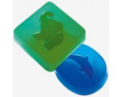 Ziepju forma zilonis/delfīns