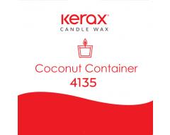 Kokosriekstu sveču vasks konteinersvecēm