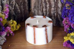 Aromātiska rapšu vaska svece ar kanēli